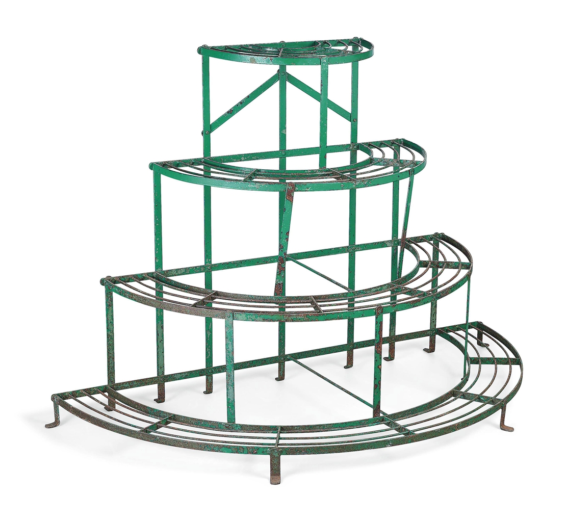 Buy Plant Stand An English Wrought Iron Plant Stand 20th Century