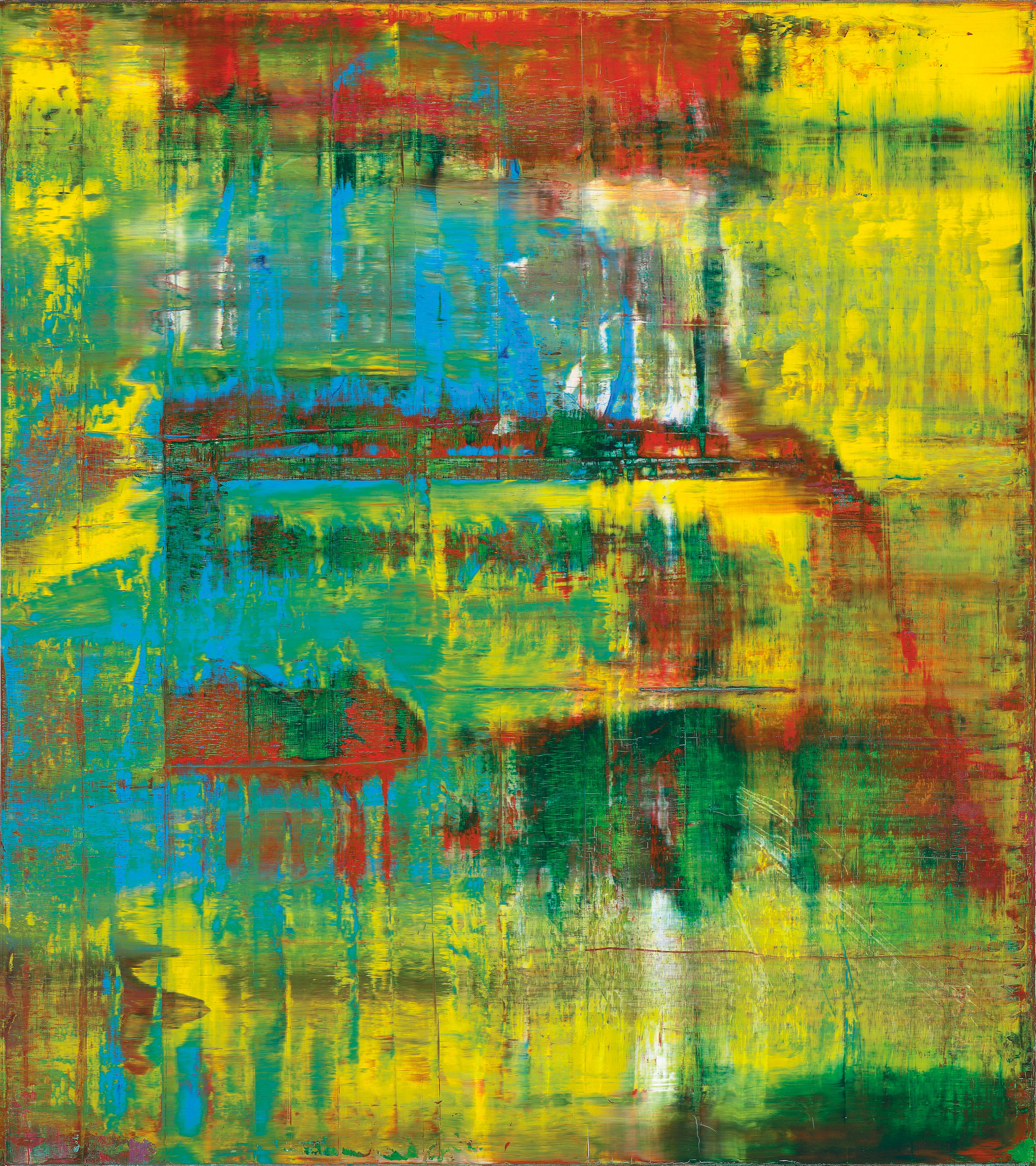 Art Bild Gerhard Richter Masterpiece From The Collection Of Eric Clapton