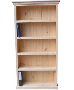 6x3 Deluxe Bookcase Raw