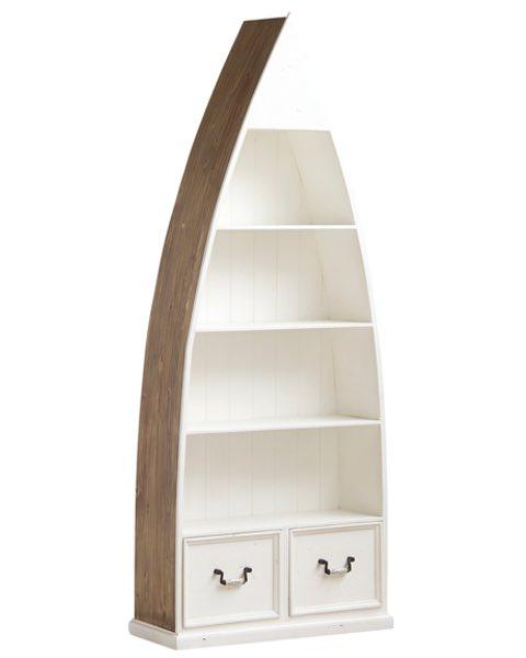 WhiteHavenBoat4ShelfBookcase