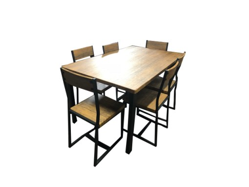 7 Pce Ironside Dining Setting