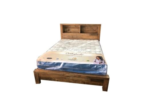 Queen Cassie Bookend Bed