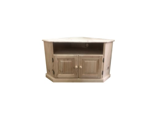 CEU 1 Slot corner tv unit raw