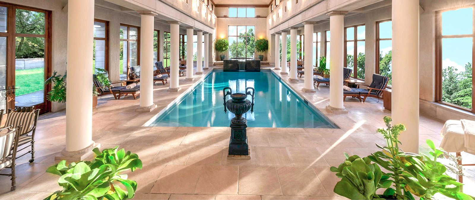 Luxus Outdoor Pool The World S Most Luxurious Indoor Swimming Pools