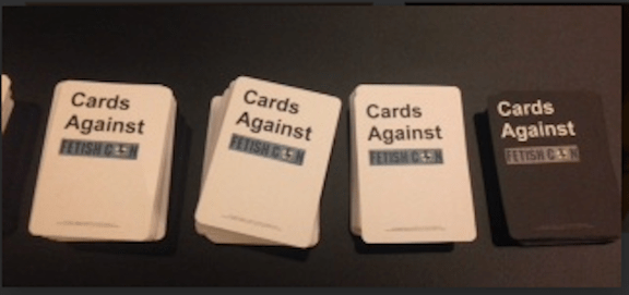 Cards against Fetish Con 0