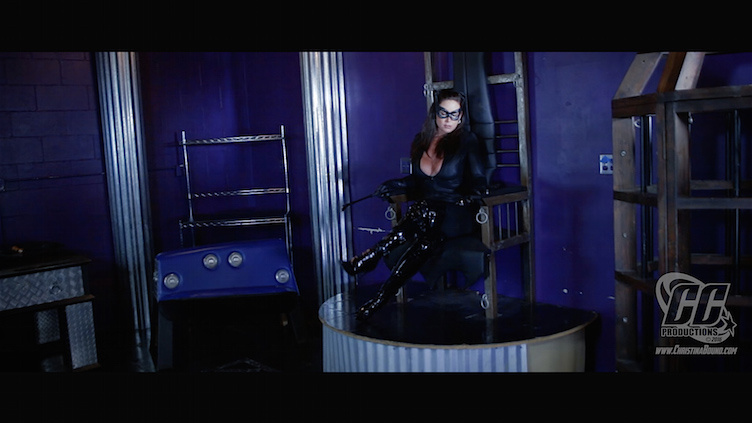 Christina Carter's Catwoman, Double Cross 1