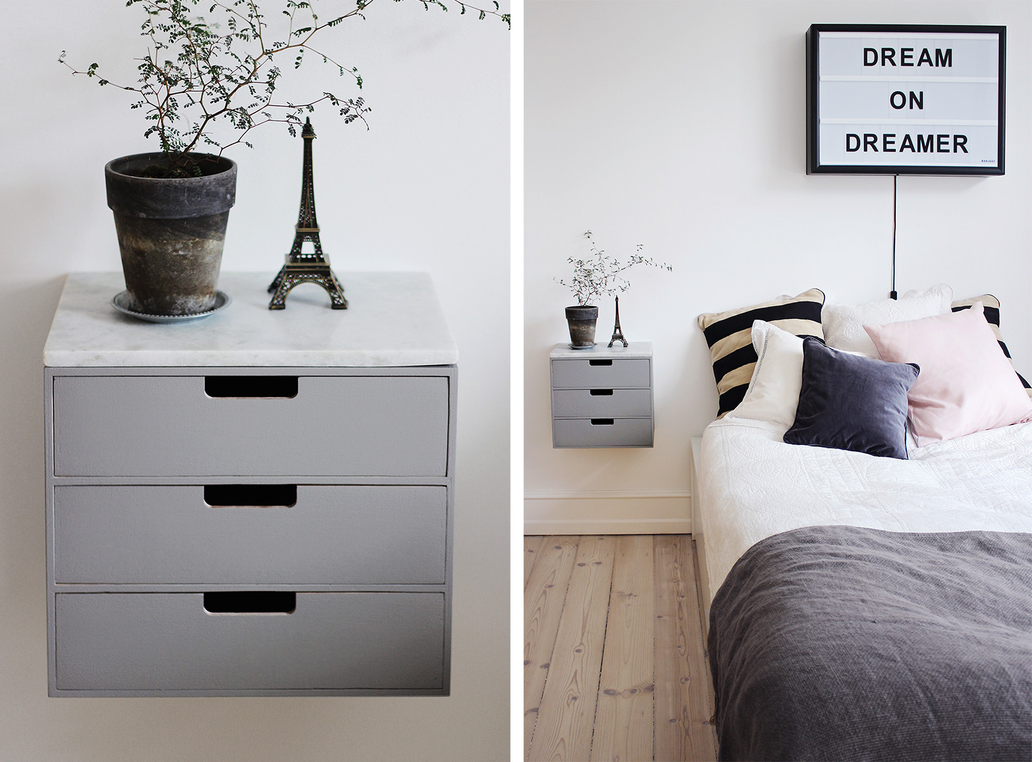 Diy Bedside Table Diy Bedside Table Christina Dueholm
