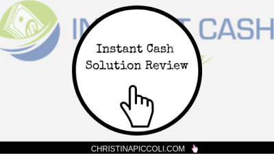 Instant Cash Solution Review (Instant Solutions Won't Get You Very Far)