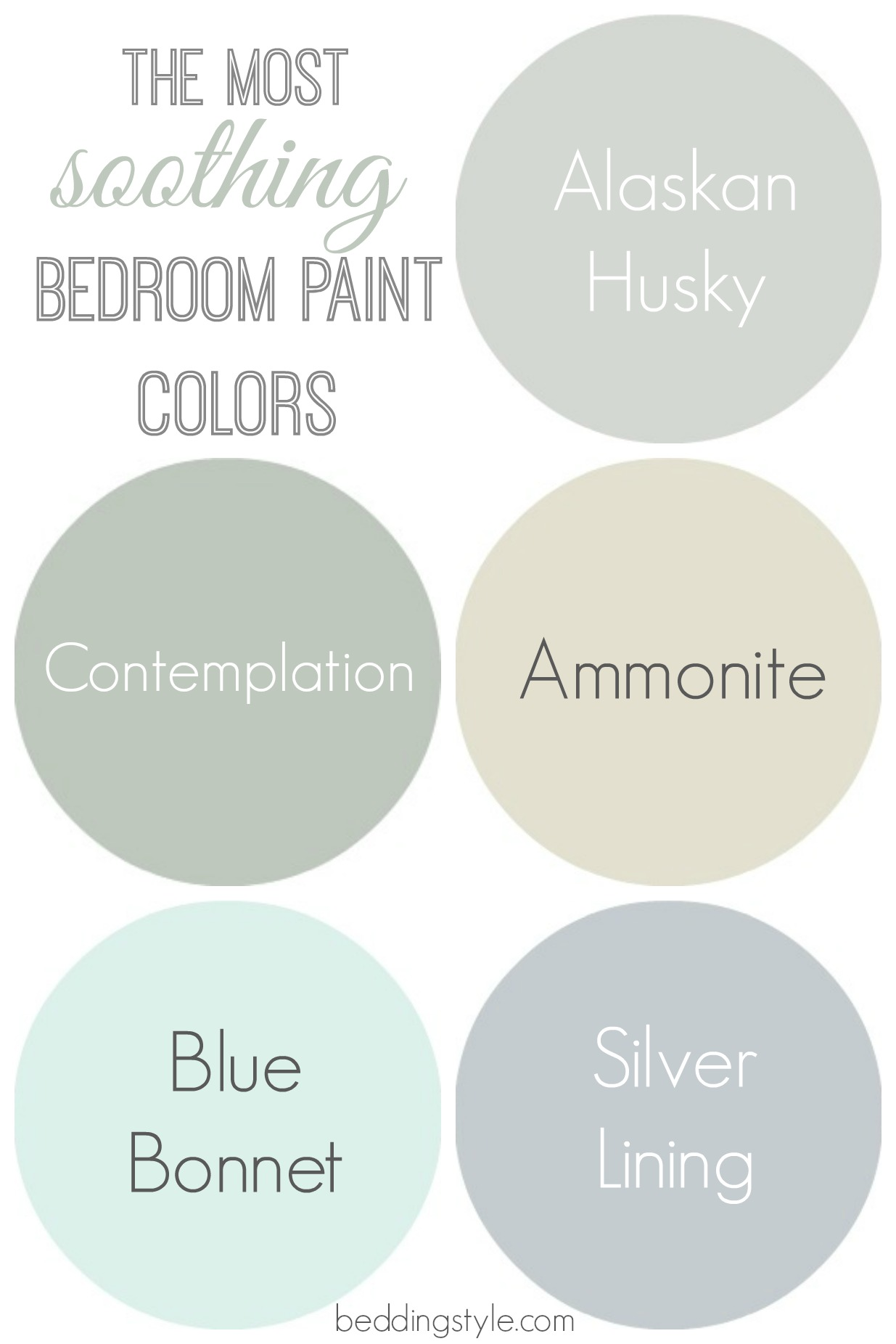 Soothing Colors For Bedroom How To Decide On Bedroom Paint Colors From Beddingstyle