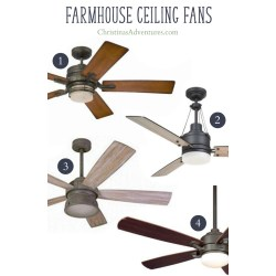 Groovy Wood Blades One Light Where To Buy Farmhouse Ceiling Fans Online Christinas Adventures Farmhouse Ceiling Fans Farmhouse Ceiling Fans Lights Farmhouse Ceiling Fan Light Covers