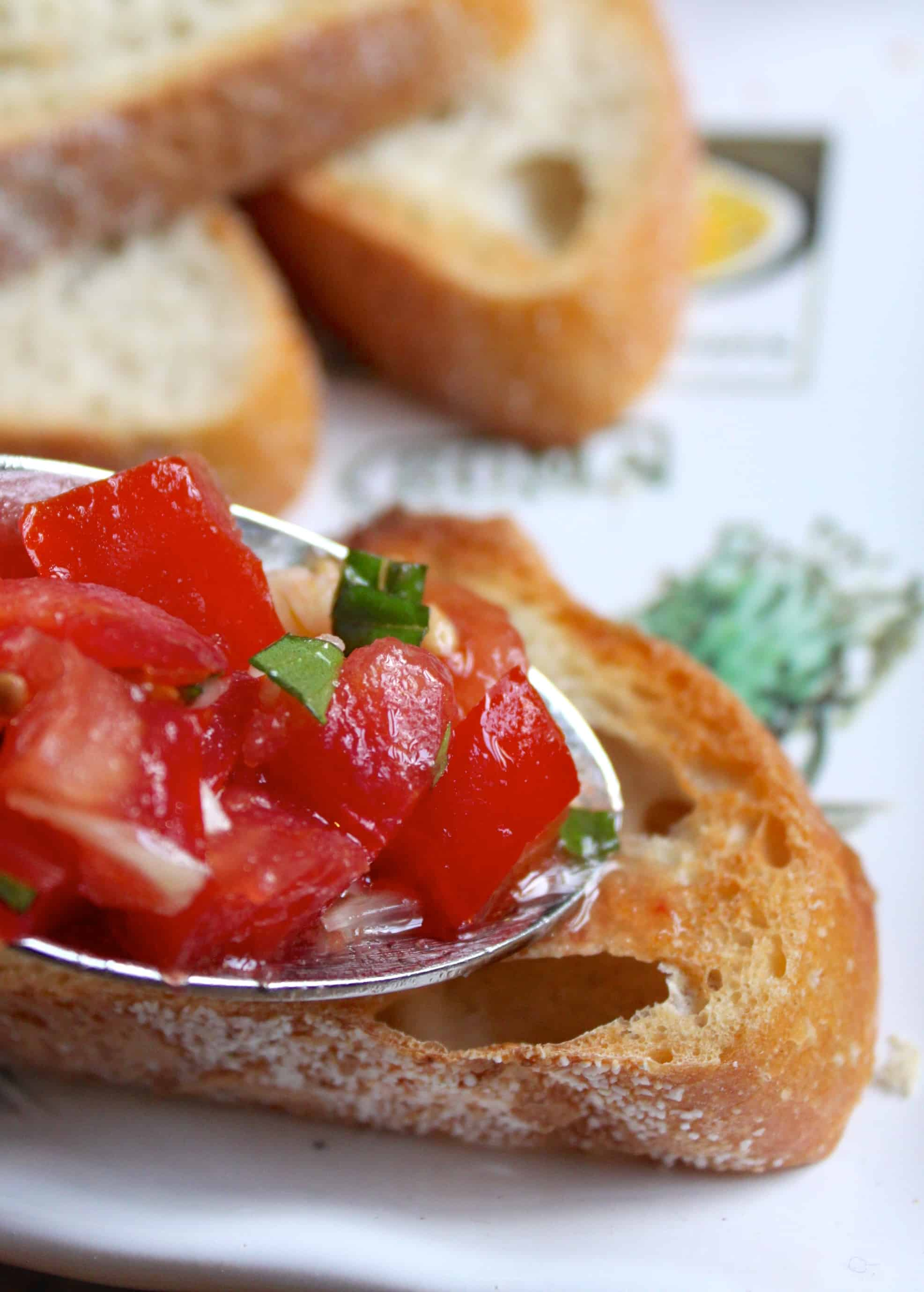 Cucina Antica Tomato Basil Heb Bruschetta I 39ll Even Tell You How To Pronounce It