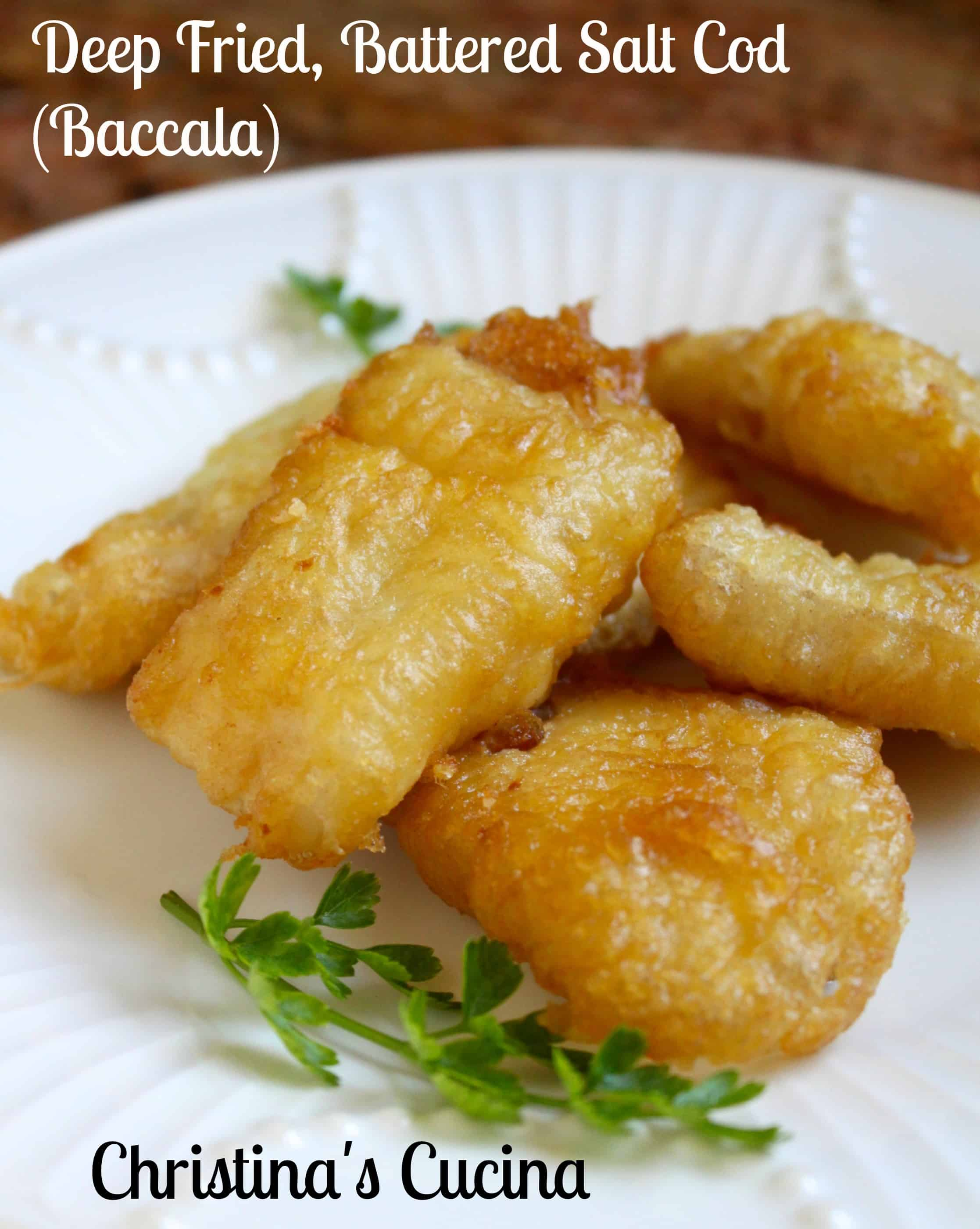 Cucina Rustica Meaning Deep Fried Battered Salt Cod Baccalà Italian Style