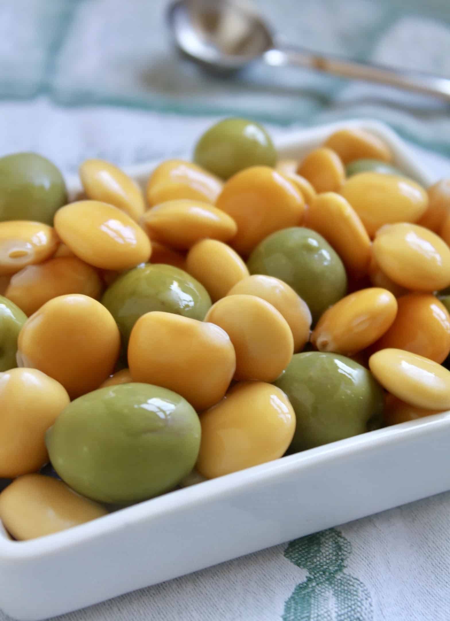 Cucina Viva Castelvetrano Olives Lupini Beans And Olives How To Cook Eat Lupini Christina S