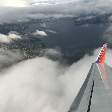 Seattle, via Southwest Air