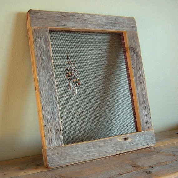 Schmuck Bilderrahmen Diy Friday- Picture Frame Earring Holder | This Is Me