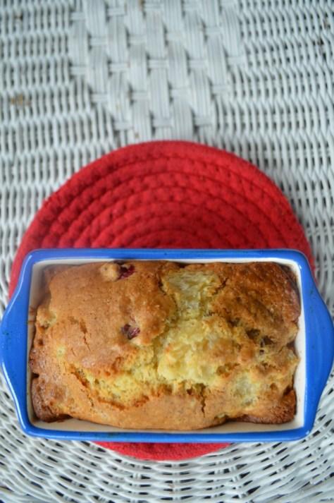 Cranberry mini loaf1