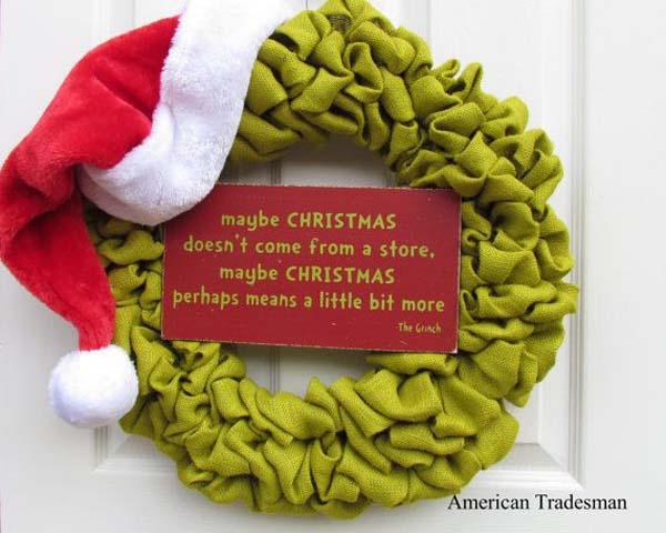 Decorating A Christmas Wreath Ideas Elitflat