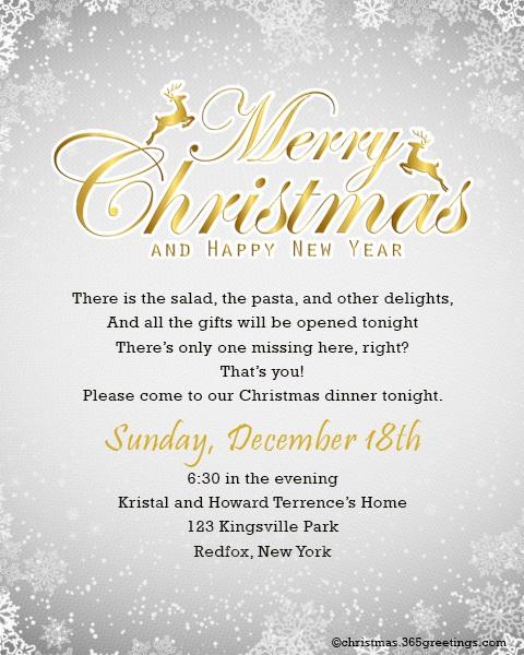 christmas-invitation-template-for-boss - Christmas Celebration - All
