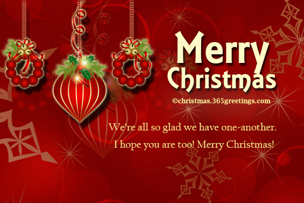 Short Christmas Wishes and Short Christmas Messages - Christmas