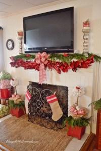 50 Most Beautiful Christmas Fireplace Decorating Ideas ...