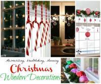 Top Christmas Window Decorations - Christmas Celebration ...