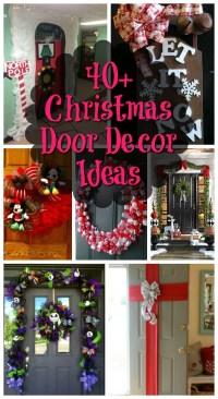 Top Christmas Door Decorations - Christmas Celebration ...