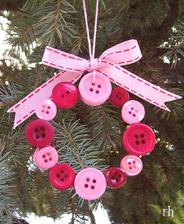 pink-handmade-christmas-tree-ornament - Christmas Celebration - All