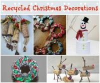 Easy Recycled Christmas Decorations and Ornaments ...