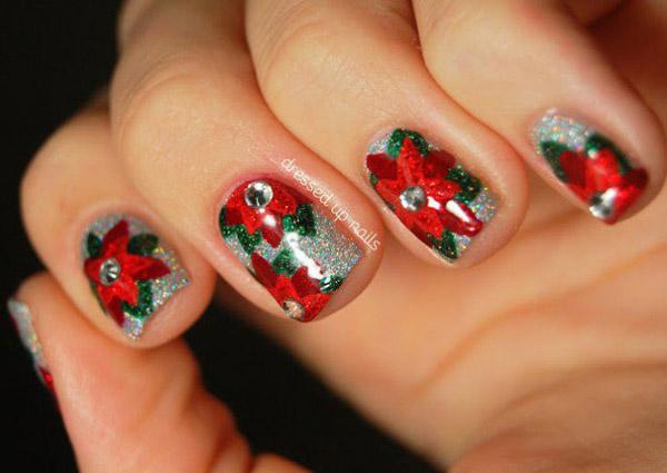 50 Amazing And Easy Christmas Nail Designs And Nail Arts