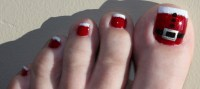 30 Best and Easy Christmas Toe Nail Designs - Christmas ...