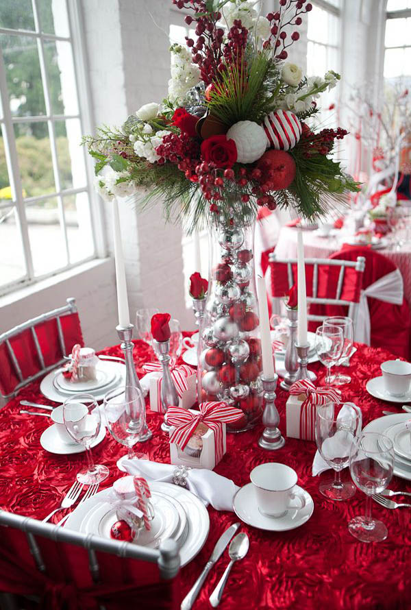 Christmas Table Decorations 2018 - Christmas Celebration - All about