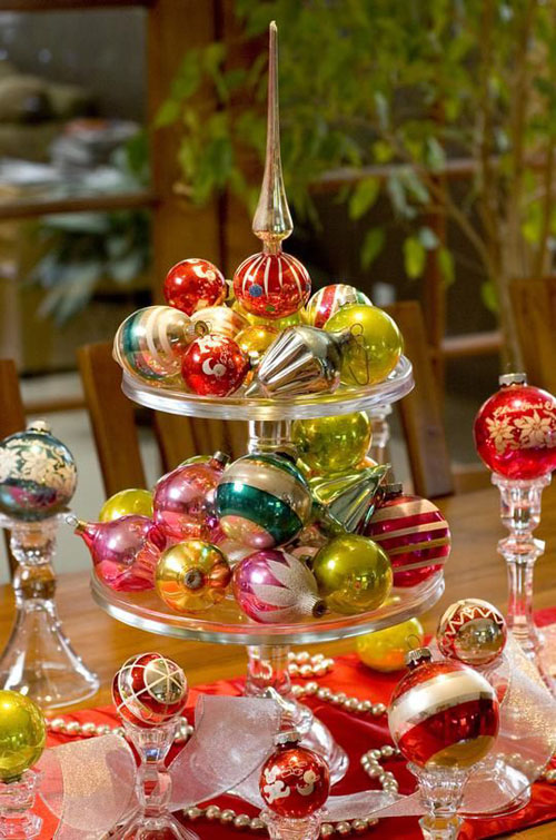 Extraordinary 25+ Christmas Table Decorations Design Inspiration - christmas table decorations pinterest