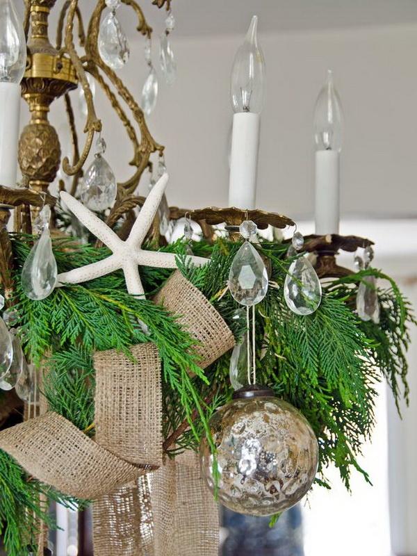 top 16 burlap christmas decoration ideas