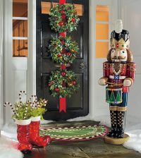 Top 40 Christmas Door Decoration Ideas From Pinterest ...