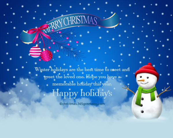 Happy Holidays Messages and Wishes - Christmas Celebration - All - holiday greeting message