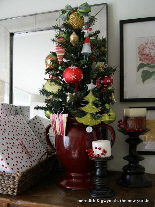 40 Small Christmas Trees u2013 Christmas Celebrations - small decorative christmas trees
