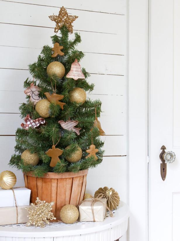 small christmas tree decor - Rainforest Islands Ferry - small decorative christmas trees