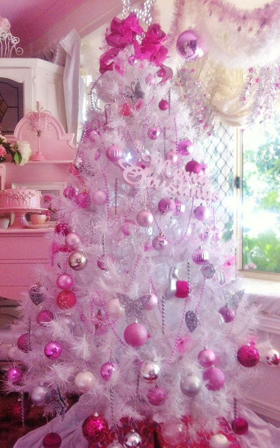 top 40 pink christmas trees christmas celebrations pink christmas tree decorations - Pink Christmas Trees