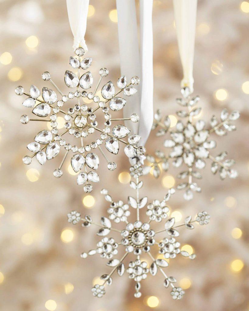 Black And White Wallpaper Decor Snowflake Christmas Decoration Ideas Christmas