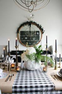Modern Christmas Table Setting Ideas - Christmas ...