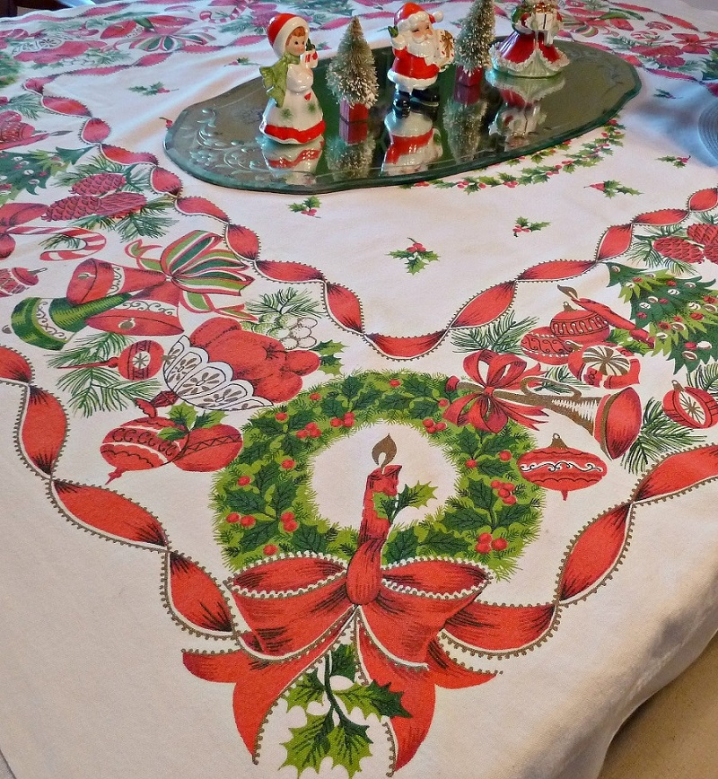 Tischdecken Weihnachten Christmas Tablecloth Design And Decoration Ideas