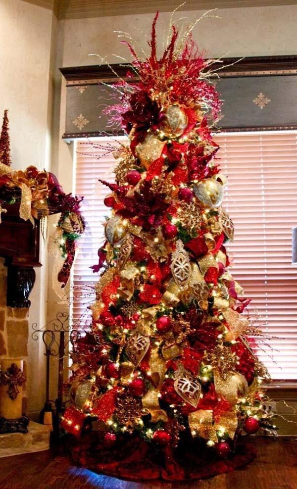 top purple christmas trees decorations