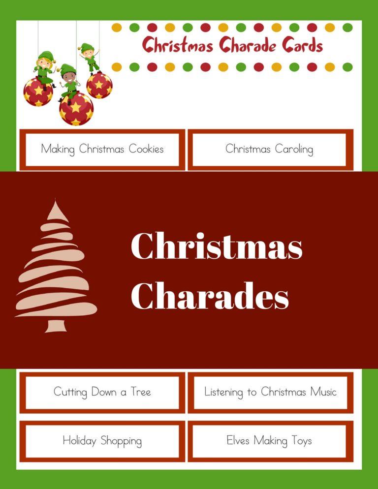 20 Free Printable Christmas Games - Christmas Celebration - All