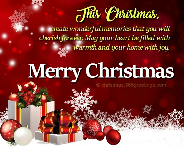 Christmas Wishes for Friends - Christmas Celebration - All about