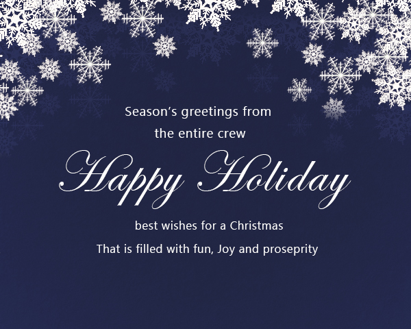 Business Christmas Cards and Corporate Holiday Greetings - Christmas