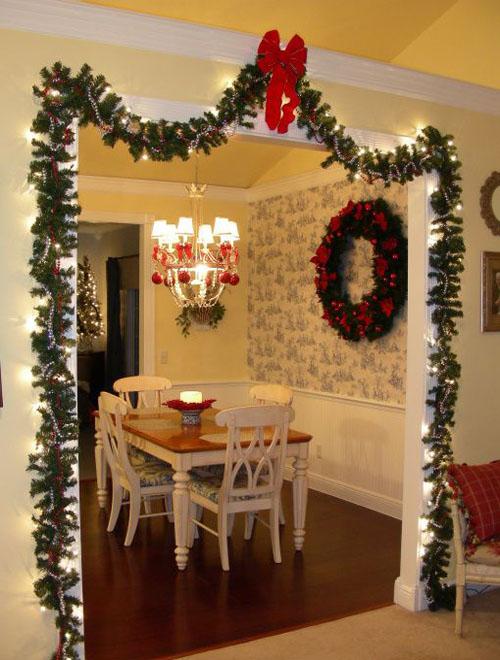 30+ Stunning Christmas Kitchen Decorating Ideas - All About Christmas - christmas kitchen decor