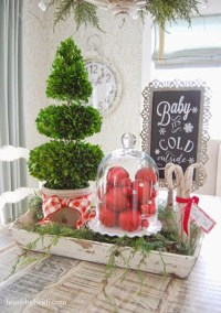 30+ Stunning Christmas Kitchen Decorating Ideas - All ...
