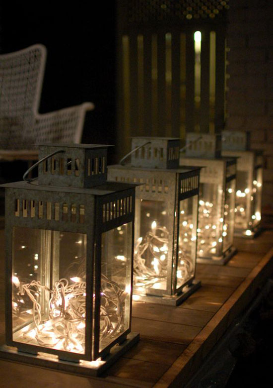Hay Lamp Stunning Christmas Lantern Decorations Ideas - All About
