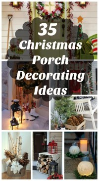 35 Cool Christmas Porch Decorating Ideas - All About Christmas