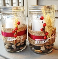 Christmas Decorating with Mason Jars - All About Christmas